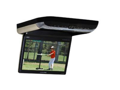 """10.2"""" Alpine  overhead video monitor with a built-in Touch Screen Car DVD player - PKGRSE3DVD"""