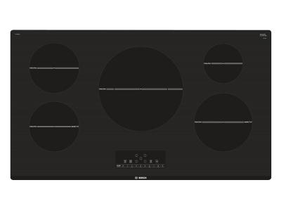 """37"""" Bosch 800 Series Induction Cooktop-Black- NIT8668UC"""