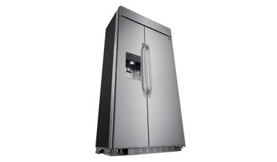 """42"""" LG STUDIO Ultra Large Capacity Side-by-Side Refrigerator with Ice & Water Dispenser - LSSB2692ST"""