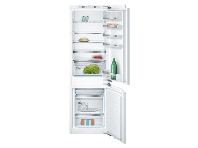 """24"""" Bosch Built-In Bottom Freezer Refrigerator with Home Connect Custom Panel - B09IB81NSP"""