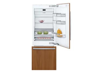"30"" Bosch Benchmark Series Built-in Bottom Freezer Refrigerator In Panel Ready - B30IB905SP"