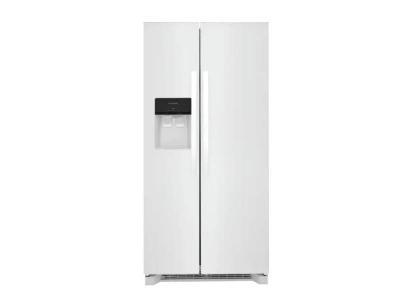 "33"" Frigidaire 22.3 Capacity Side by Side Refrigerator - FRSS2323AW"