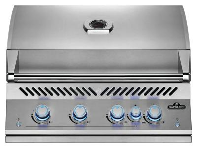"34"" Napoleon Built-In 700 Series 32 RB Propane Gas Grill With Infrared Rear Burner In Satinless Steel - BIG32RBPSS"