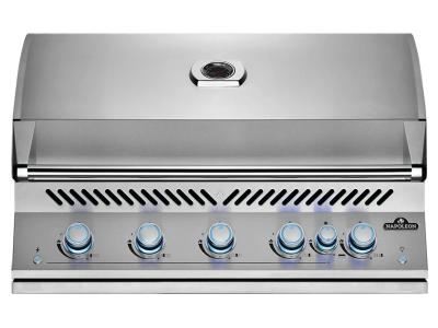 "40"" Napoleon Built-In 700 Series 38 RB Propane Gas Grill With Infrared Rear Burner In Stainless Steel - BIG38RBPSS"