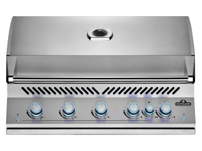 "40"" Napoleon Built-In 700 Series 38 RB Natural Gas Grill With Infrared Rear Burner In Stainless Steel - BIG38RBNSS"