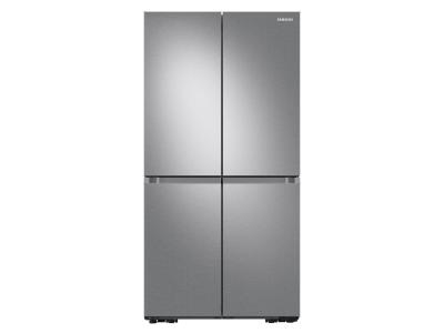 """36"""" Samsung 22.8 Cu. Ft. French Door Refrigerator With Beverage Center In Stainless Steel - RF23A9671SR"""