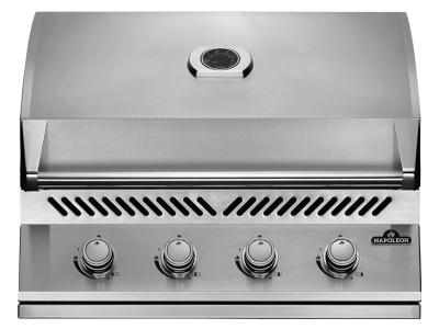 Napoleon Built-In 500 Series Natural Gas Grill In Stainless Steel - BI32NSS