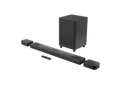JBL  9.1 Channel Soundbar System with Surround Speakers and Dolby Atmos - JBLBAR913DBLKAM