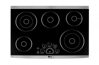 """30"""" LG STUDIO Radiant Cooktop With Dual Elements- LSCE305ST"""