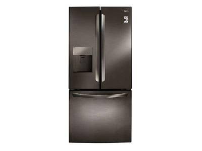 """30"""" LG 22 Cu. Ft. French Door Refrigerator With Water Dispenser  - LFD22786SD"""