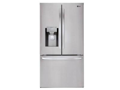 "36"" LG 22 cu.ft. WiFi Enabled Counter Depth French Door Refrigerator - LFXC22526S"