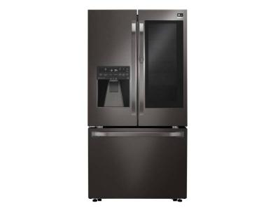 "36"" LG STUDIO 24 Cu. Ft. InstaView Door-in-Door Counter-Depth Refrigerator - LSFXC2496D"