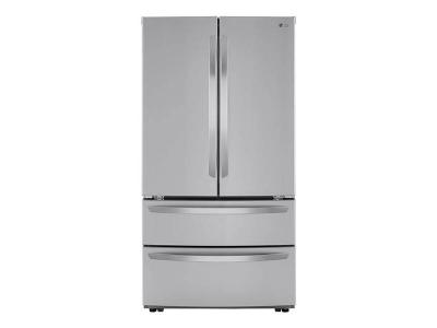 "36"" LG  4-Door French Door Refrigerator With Internal Water Dispenser - LMWS27626S"
