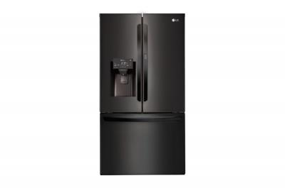"36"" LG 28 cu.ft  Matte Black French Door Refrigerator With Door-in-Door  - LFXS28566M"