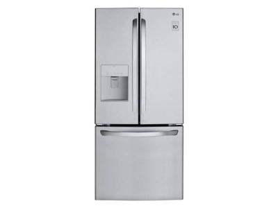 "30"" LG 22 Cu.Ft. French Door Refrigerator - LFD22716ST"