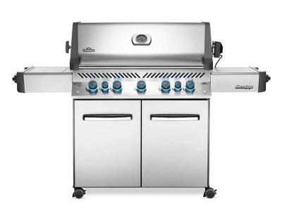 "75"" Napoleon Prestige 665 Infrared Side and Rear Burners  , Propane Gas Grill - P665RSIBPSS"