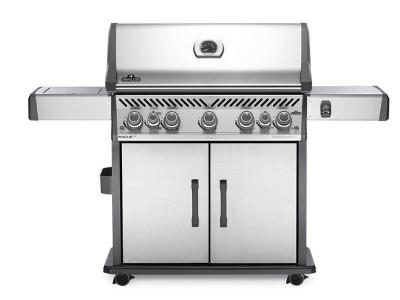 "66"" Napoleon Rogue Propane Gas Grill in Stainless Steel with Infrared Rear and Side Burners - RSE625RSIBPSS-1"