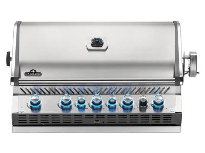 "42"" Napoleon Prestige PRO Series Built-In Propane Grill With an Infrared Rear Burner - BIPRO665RBPSS-3"
