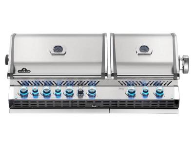 "56"" Napoleon Prestige PRO Series Built-In Propane Grill With Infrared Bottom And Rear Burners - BIPRO825RBIPSS-3"