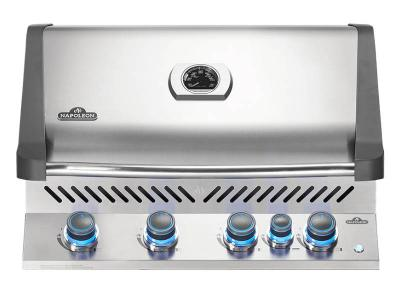 "33"" Napoleon Prestige 500 Series Built-In Propane Grill With Infrared Rotisserie Burner - BIP500RBPSS-3"