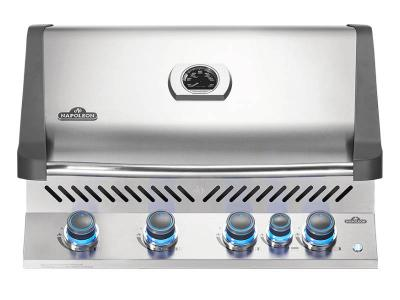 """33"""" Napoleon Prestige 500 Series Built-In Natural Gas Grill With Infrared Rotisserie Burner - BIP500RBNSS-3"""