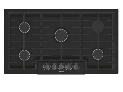 """37"""" Bosch 800 Series Gas Cooktop With 5 Burner - NGM8646UC"""