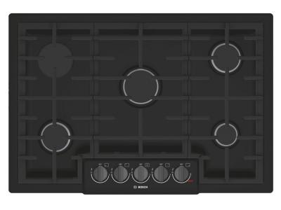 """31"""" Bosch 800 Series Gas Cooktop With 5 Burner - NGM8046UC"""
