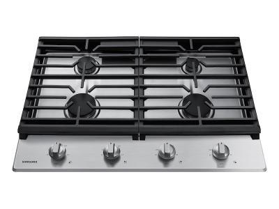 """30"""" Samsung Gas Cooktop in Stainless Steel - NA30R5310FS"""
