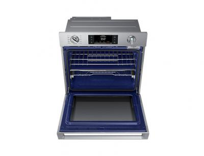 """30"""" Samsung 5.1 Cu. Ft. Convection Single Oven With Steam Bake - NV51K7770SS"""
