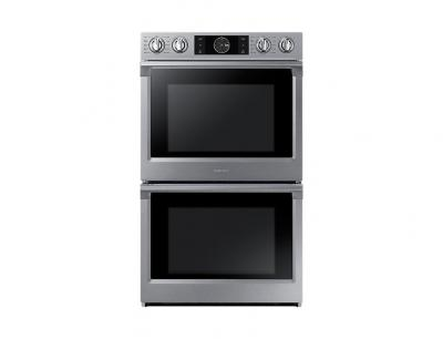 """30"""" Samsung Convection Double Oven with Steam Bake and Flex Duo, 10.2 cu.ft - NV51K7770DS"""