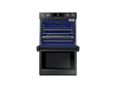 """30"""" Samsung ConvectionDouble Oven with Steam Bake and Flex Duo, 10.2 cu.ft - NV51K7770DG"""