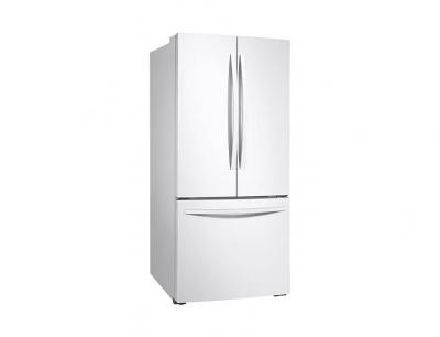 "30"" Samsung French Door Refrigerator with Freezer Located Ice Dispenser - RF220NFTAWW"