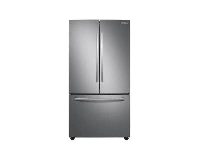 """36"""" Samsung French Door Refrigerator with Freezer Located Ice Dispenser - RF28T5A01SR"""