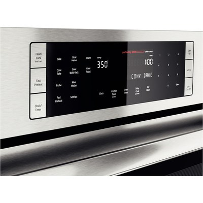 """30"""" Bosch Double Wall Oven 800 Series - Stainless Steel HBL8651UC"""