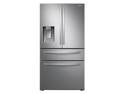 """36"""" Samsung French Door with Twin Cooling Plus (Stainless Steel) - RF28R7201SR"""