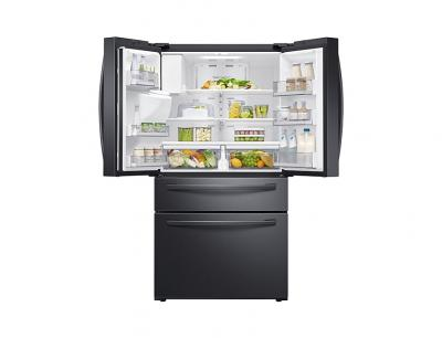 """36"""" Samsung Counter Depth French Door with Twin Cooling Plus (Black Stainless Steel) - RF24R7201SG"""