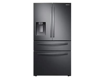 """36"""" Samsung  French Door with Twin Cooling Plus (Black Stainless Steel) - RF28R7201SG"""